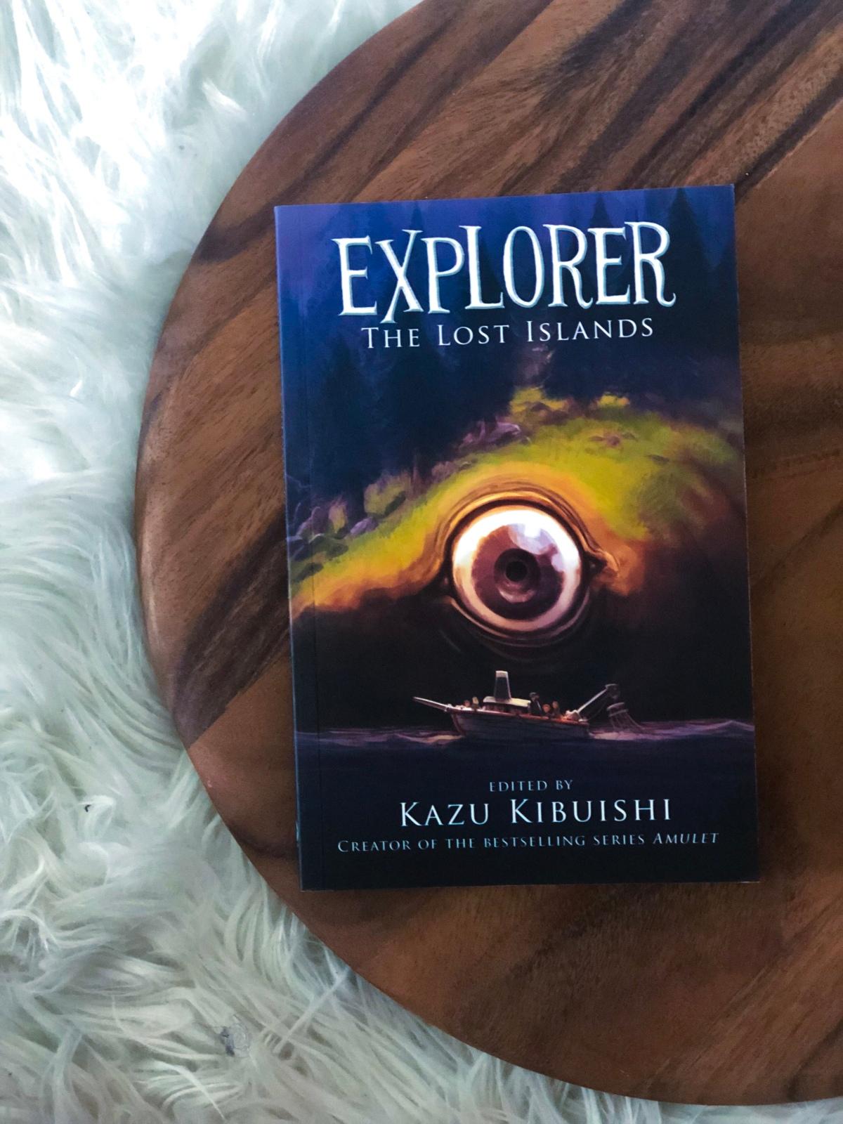 Review: 'Explorer' Series Edited By KazuKibuishi