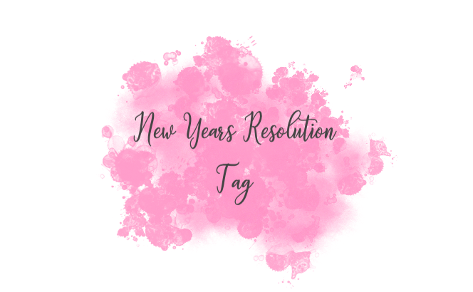 New Years Resolutions Book Tag2019