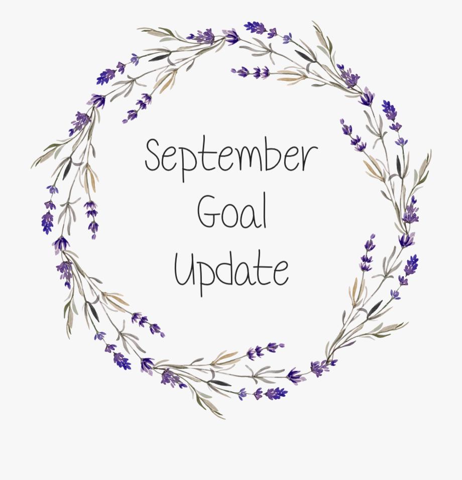 September Goal Update
