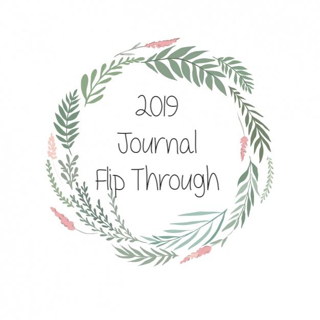 2019 'Bullet' Journal FlipThrough
