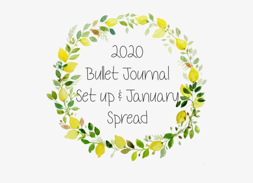 2020 'Bullet' Journal Set Up & JanuarySpread