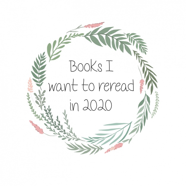 Books I Want to Reread in2020