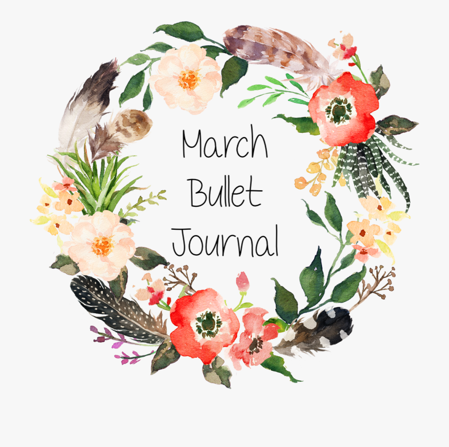 March Bullet JournalSpreads